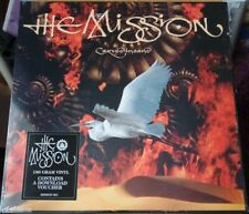 THE MISSION  CARVED IN SAND LP➕ ORIGINAL INNER ➕ DOWNLOAD VOUCHER ➕ FREE POSTAGE