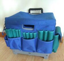 Fiskars Caddy Carry Organize Crafts wheeled tote EUC