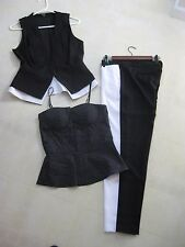 XOXO Entire 3 Piece Outfit and/or Suit / M tops / 7/8 Pants / BNWT