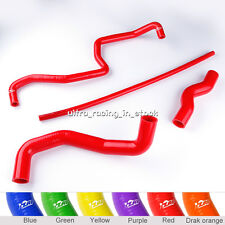 Red Silicone Radiator Coolant Hose Pipe For Nissan 350 Z 350Z 03-06 Infiniti G35