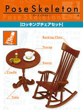 Re-Ment Pose Skeleton - Rocking Chair Set ( Skeletal Figure Not Included )