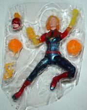 "Marvel Legends Avengers WALMART LOOSE 6"" figure CAPTAIN MARVEL BINARY FORM movie"