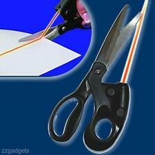 Home Laser Guided Sewing Cut Straight Fast Fabric Paper Craft Scissors Tool New