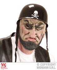 Outlaw Biker Mask Hells Angel Wild West Punk Fancy Dress Accessory