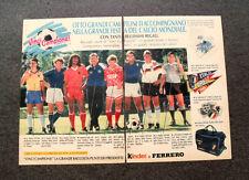I351-Advertising Pubblicità-1987- KINDER FERRERO VINCI CAMPIONE RACCOLTA PUNTI