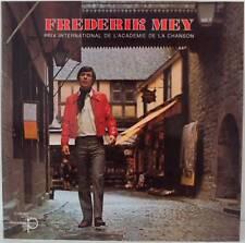 "Frederik Reinhard Mey PRIX INTERNATIONAL DE LA CHANSON vol.1 12 "" LP Foc (L3128)"