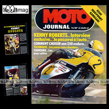 MOTO JOURNAL N°387 KAWASAKI PIPART 1000 MOBCROSS MORBIDELLI 250 KENNY ROBERTS 78