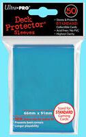 50 Ultra Pro DECK PROTECTOR Card Sleeves LIGHT BLUE MTG Standard Size Pokemon