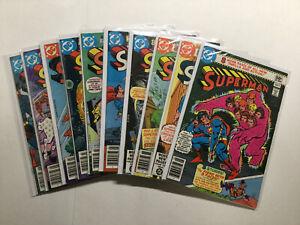 Superman 351-360 Lot Run Set Very Fine/Near Mint Vf/Nm 9.0 Dc Comics