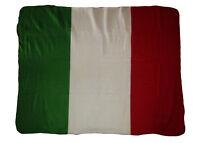 "Italy Italian Country Flag 50x60 Polar Fleece Blanket Throw 50""x60"" Brand NEW"