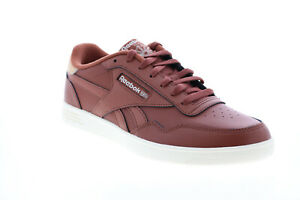Reebok Ckub Memt FX9139 Mens Brown Leather Lifestyle Trainers Shoes