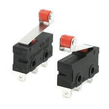10 Pcs Mini Micro Limit Switch Roller Lever Arm SPDT Snap Action LOT AD