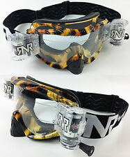 RIP ' N ROLL MOTOCROSS MX ENDURO lunettes de protection hybride RnR TRIBAL