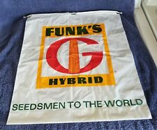 """FUNK'S-G- HYBRID"" Plastic, draw string bags(2 different style's);PROMO BAGS"