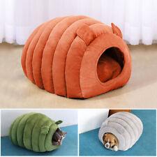 Comfy Dog Cat Igloo Bed Soft Kennel House Cushion Warm Sleep Cave Tent Washable