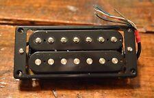 New Hot 7 String Black Humbucker Guitar Pickup with Ring and Adjusting Screws