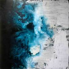 Turquoise Abstract Wall Art Painting