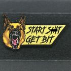 Внешний вид - Start Sh*t Get Bit Embroidered Morale Patch Tactical Outfitters K9 MWD Malinois