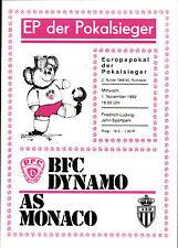 EC I 89/90 BFC Dynamo - AS Monaco, 01.11.1989