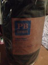 Pottery Barn Teen Urban Duvet Cover Khaki Green Twin NEW