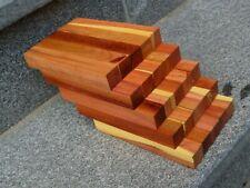 Zwetschgenholz Pflaumenbaum Pen Blanks 25 Stück Kugelschreiberrohlinge