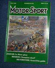 Motor Sport July 1988 Senna, Prost win, Jaguar win Le Mans,  Porsche 944 Turbo