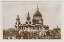London postcard - St Pauls Cathedral, London - RP