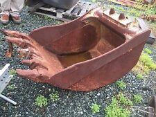 """22"""" Wide Bucket 5 tooth Equipment Attachment Midi Excavator Backhoe Tractor EC58"""