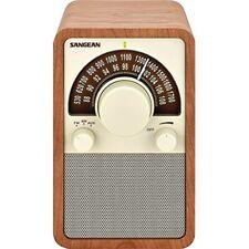 Sangean Wr15Wl Am/Fm Table Top Wooden Radio-Walnut