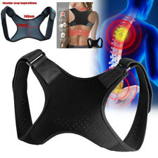 Adjustable Back Support Posture Corrector Belt Shoulder Sports Brace Pain Relief
