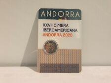 2 Euros Commémorative Andorre Andorra 2020 BU Sommet Iberico Coincard BU