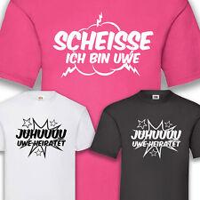 T-Shirt JGA Bräutigam Hangover Junggesellenabschied Groom Juhu Heiraten S-5XL