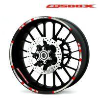 Stripes Sticker Cool wheel stickers Rim Decal For Honda CB500F CB500X