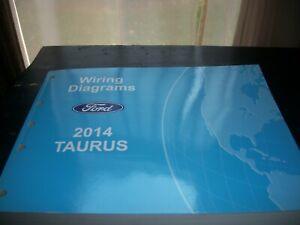 Repair Manuals Literature For 2014 Ford Taurus For Sale Ebay