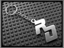Keyring for YAMAHA RD YPVS - Stainless Steel, Hand Made, Chain Loop Key Fob