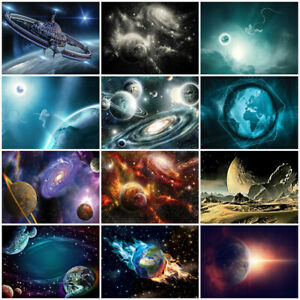 Tapete GALAXY Fototapete Vlies Kinder Kosmos Universum Sterne Planeten MIX027