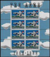 Svizzera - 1988 - PRO AERO -  Minifoglio nuovo MNH - Unificato A49