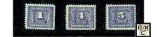 Canada Post Due J6, J8, J9, M.L.H.  F/VF  Stamps , Catalog value $60