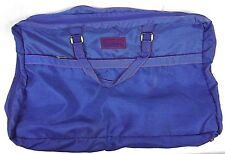 Verdi Champions Duffle Bag Blue Nylon Shoulder Strap 27 x 20 USA 3 Zip Pockets