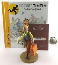 Collection officielle figurine Tintin Moulinsart 95 Tintin à la valise