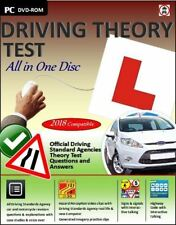 Driving Theory Test & Hazard Test - CAR.DVD CD ROM - NEW 2018 Latest EDITION