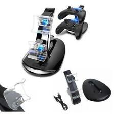 CARICATORE CONTROLLER PLAYSTATION 4 DOPPIA STAZIONE DOCKS PS4 LINQ JOYPAD