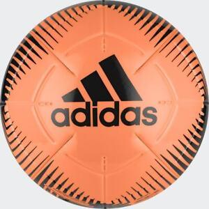 FOOTBALL/ SOCCER ADIDAS EPP II CLUB BALL ORANGE/ BLACK SIZES 3,4 & 5