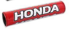 BIKE IT MOTORCYCLE HANDLEBAR BAR PAD MX ENDURO HONDA RED BC39390 T