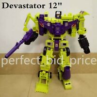 Transformers Devastator 6 In 1 Action Figure KO Engineering Truck Robot in Stock