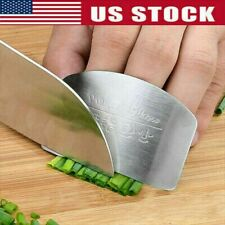 Kitchen Stainless Steel Finger Protector Hand Cut Guard Safe Slice Cutlery Tools
