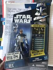 *RARE FIND* Captain Rex figure Clone Wars Saga Legends AoTC RoTS 3.75