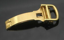 AUTHENTIC CARTIER SWISS 15739 SOLID 18K 750 GOLD DEPLOYANT CLASP BUCKLE 12MM