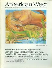 1983 The American West Magazine: South Dakota Ranchers Dig Up Dinosaur Bones