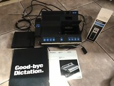 Vtg Dictaphone DCX 1 Original Box Foot Pedal Microphone